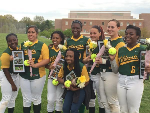WLHS Girls Softball Senior Day
